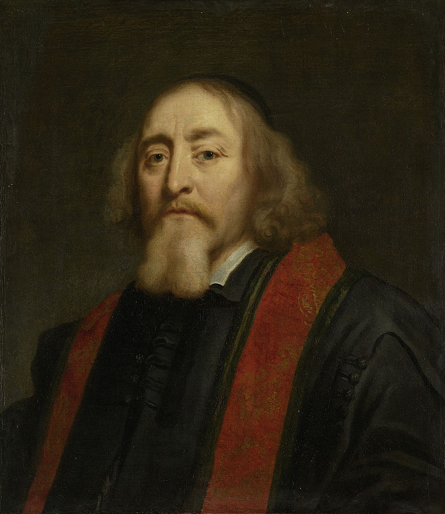 Jürgen Ovens – Jan Amos Komenský | Tento olej na plátně je v majetku holandské galerie Rijksmuseum v Amsterdamu | Zdroj Wikimedia Commons