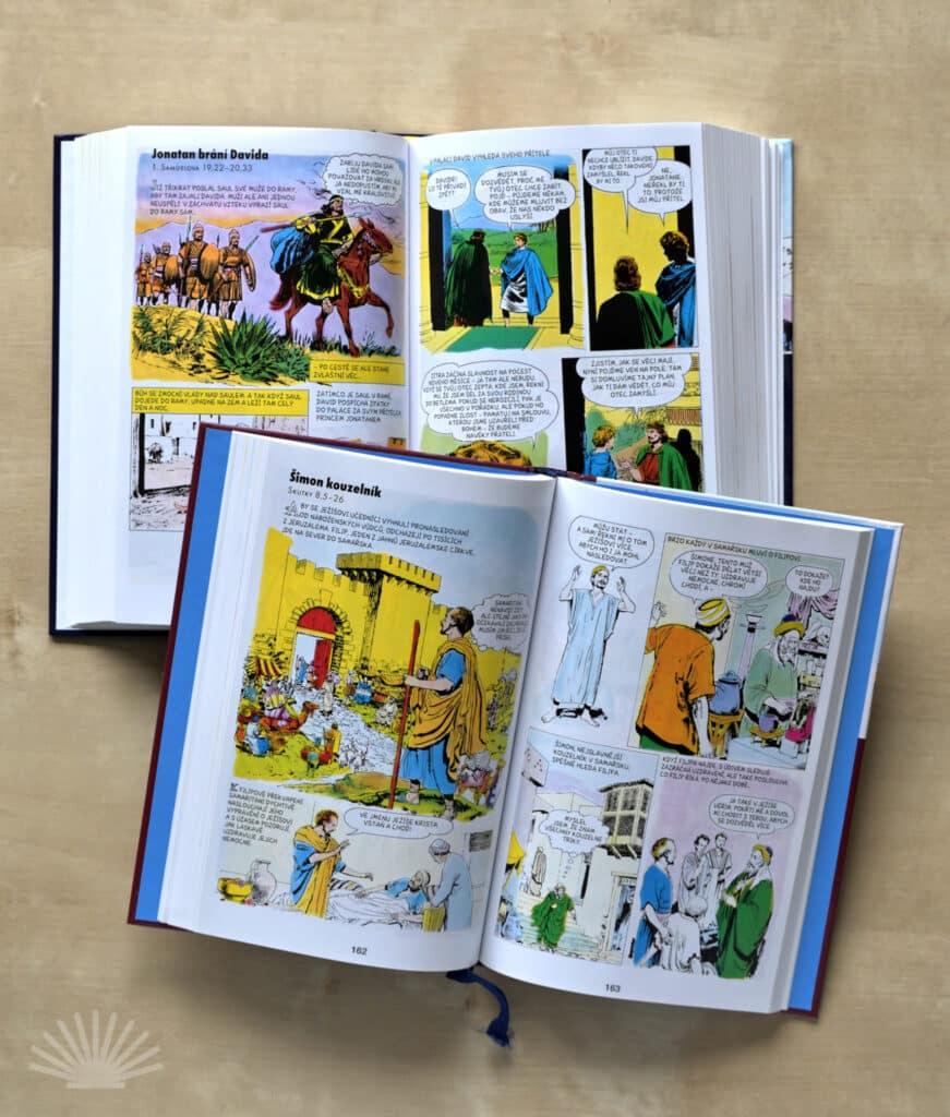 Komiksový Nový zákon a komiksová Bible