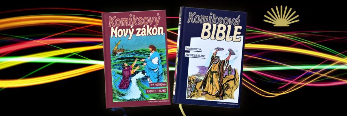 Ve vší vážnosti: komiksová Bible do každé knihovny